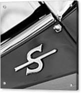 1959 Jaguar Xk150sots Emblem Acrylic Print