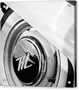 1959 Nash Metropolitan 1500 Convertible Wheel Emblem Acrylic Print