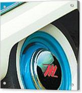 1959 Nash Metropolitan Wheel Emblem Acrylic Print