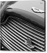 1960 Aston Martin Db4 Gt Coupe' Grille Emblem Acrylic Print