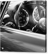 1960 Aston Martin Db4 Series II Steering Wheel Acrylic Print