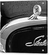 1960 Ford Galaxie Starliner Hood Ornament - Emblem Acrylic Print by Jill Reger