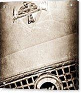 1960 Nash Metropolitan Hood Ornament - Grille Emblem Acrylic Print