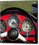 1961 Alfa-romeo Giulietta Spider Steering Wheel Emblem Acrylic Print