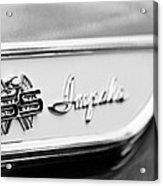 1961 Chevrolet Impala Ss Emblem Acrylic Print