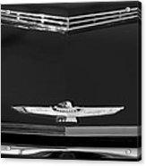 1961 Ford Thunderbird Hood Emblem Acrylic Print