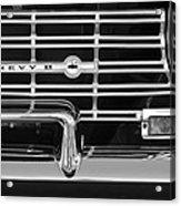 1962 Chevrolet Nova Grille Emblem Acrylic Print