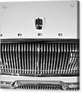 1962 Dodge Dart Grille Emblem Acrylic Print