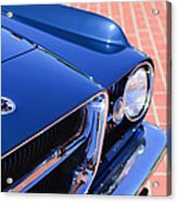 1962 Ghia L6.4 Coupe Grille Emblem Acrylic Print