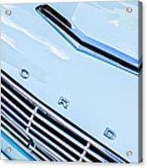 1963 Ford Falcon Futura Convertible Hood Emblem Acrylic Print