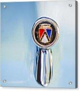 1963 Ford Falcon Futura Convertible  Hood Ornament Acrylic Print