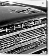 1963 Ford Galaxie 500xl Taillight Emblem Acrylic Print by Jill Reger