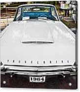 1964 Ford Thunderbird Painted Acrylic Print