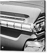 1964 Mercury Comet Taillight Emblem Acrylic Print