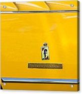 1965 Ferrari 275gts Emblem Acrylic Print
