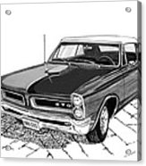 1965 Pontiac G T O Convertible Acrylic Print