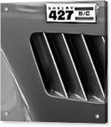 1965 Shelby Cobra 427 Emblem Acrylic Print
