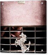 1966 Ferrari 330 Gtc Coupe Grille Emblem Acrylic Print