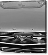 1966 Ford Mustang Front End Acrylic Print