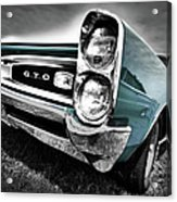 1966 Pontiac Gto Acrylic Print