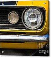 1967 Camaro Headlight Acrylic Print