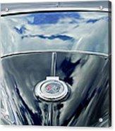 1967 Chevrolet Corvette Rear Emblem Acrylic Print by Jill Reger