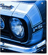 1967 Chevy Camaro Rs Acrylic Print