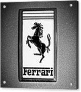 1967 Ferrari 330 Gts Emblem Acrylic Print