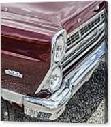 1967 Ford Fairlane 500xl Acrylic Print