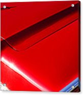 1967 Lincoln Continental Hood Ornament Acrylic Print