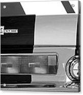 1967 Shelby Gt500 Fastback Taillight Emblem Acrylic Print