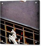 1968 Ferrari 365 Gtc Hood Emblem - Grille Emblem Acrylic Print