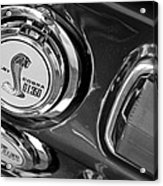 1968 Ford Mustang - Shelby Cobra Gt 350 Taillight And Gas Cap Acrylic Print