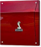 1968 Shelby Gt350 Side Emblem Acrylic Print