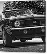 1969 Chevy Camaro Ss Acrylic Print
