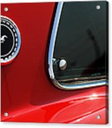 1969 Ford Mustang Mach 1 Acrylic Print