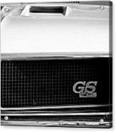 1970 Buick Gs Grille Emblem Acrylic Print