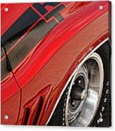 1970 Dodge Challenger R/t Acrylic Print