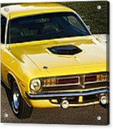 1970 Plymouth Hemi 'cuda Acrylic Print