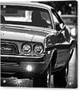 1972 Dodge Challenger Acrylic Print