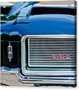 1972 Oldsmobile 442 Grille Emblem Acrylic Print