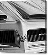 1974 Pontiac Firebird Grille Emblem Acrylic Print