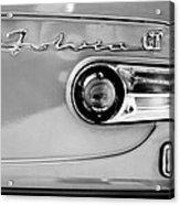 1975 Lancia Fulvia 1.3s Gt Berlina Taillight Emblem Acrylic Print