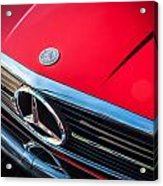 1984 Mercedes 500 Sl Convertible Acrylic Print