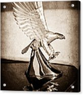 1986 Zimmer Golden Spirit Hood Ornament Acrylic Print