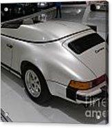 1987 Porsche 911 Carrera 3.2 Speedster Studie Acrylic Print