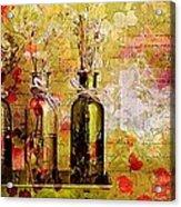 1-2-3 Bottles - S12a203 Acrylic Print