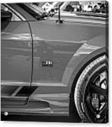 2006 Ford Saleen Mustang Bw Acrylic Print