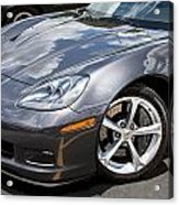 2010 Chevy Corvette Grand Sport Acrylic Print