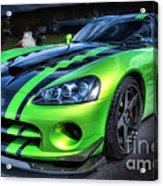 2010 Dodge Viper Acr Acrylic Print